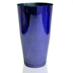 Bar Shaker Tin Stainless Steel Blue
