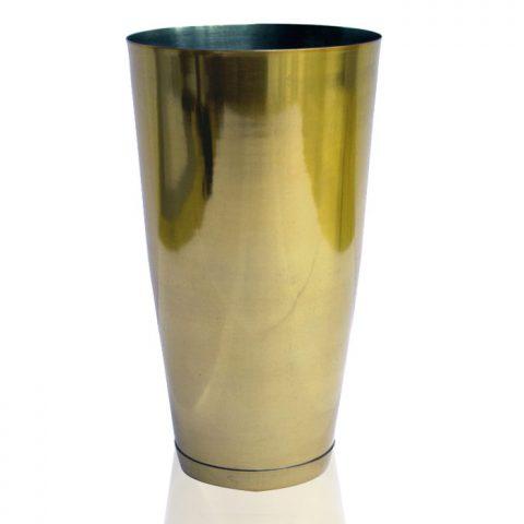 Bar Shaker Tin Stainless Steel Gold