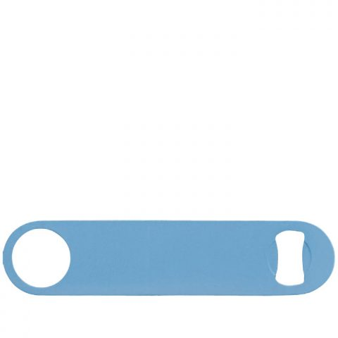 Flat Bottle Opener - Blue