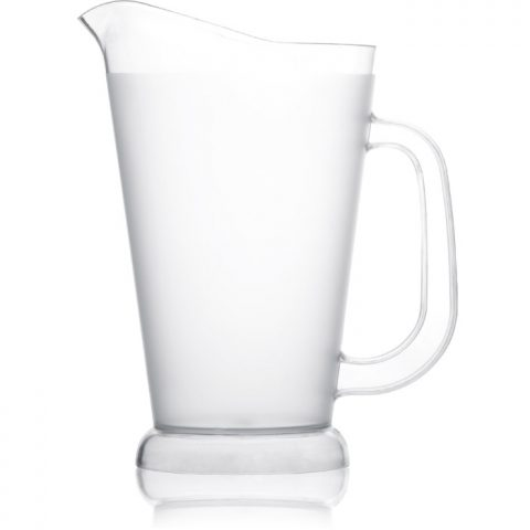 Frosted Plastic Pitcher