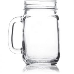Mason Jar Large With Handle