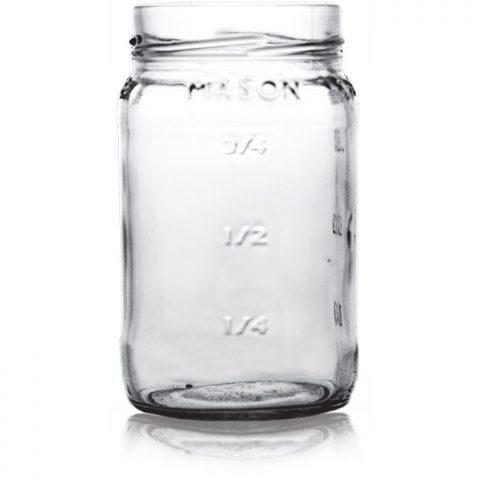 Mason Jar With Measurements