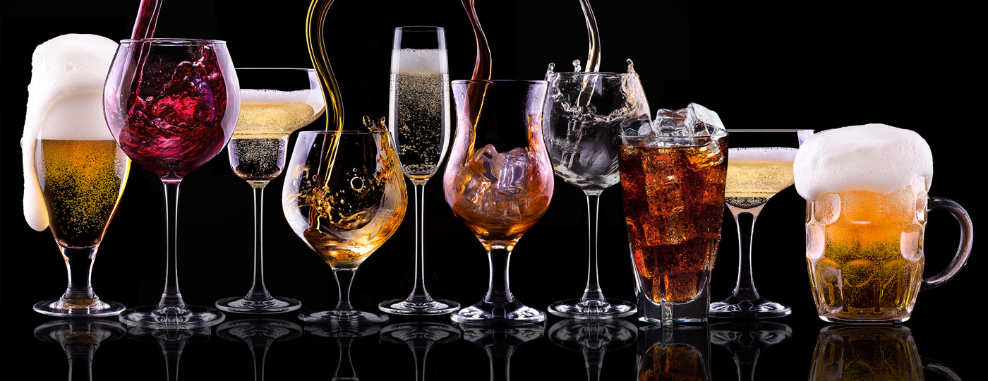 Unlimited Glassware Selection