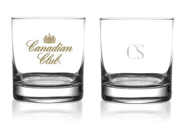 Canadian Club Custom Glass