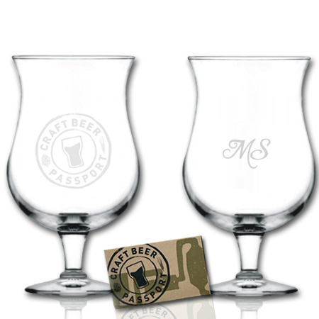 Craft Beer Passport Custom Glass