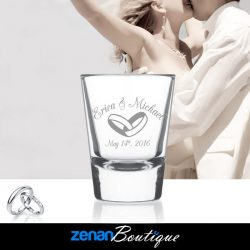 Wedding Boutique - 1.5oz Shot Glass 0653
