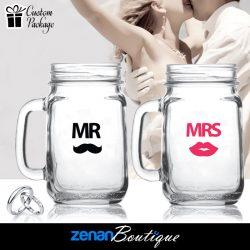 """Wedding Boutique Packages - """"Mr & Mrs"""" V2 on Mason Jar"""