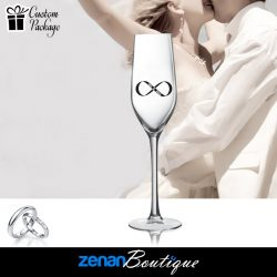 Wedding Boutique Packages – Infinity Symbol On flute