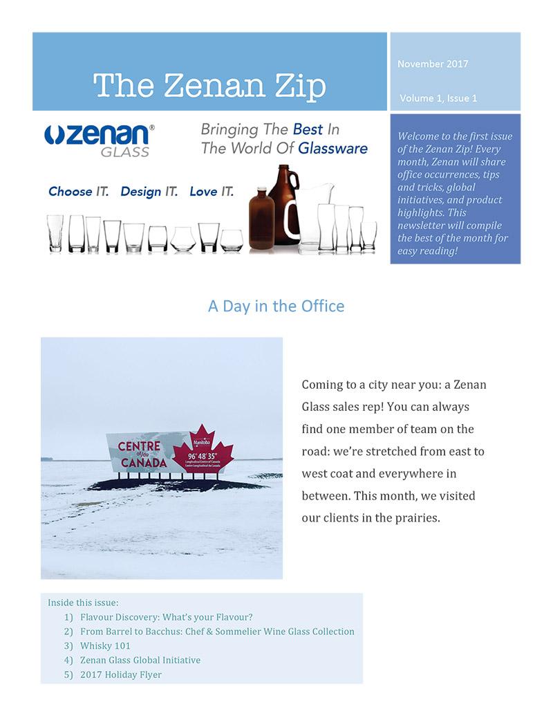 Zenan Zip - Issue 1, Nov 2017 - Page 1