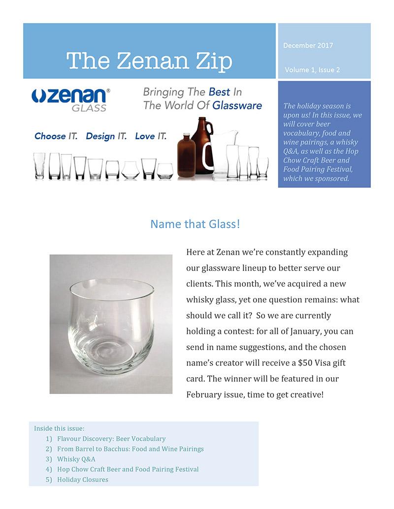 Zenan Zip - Issue 2, Dec 2017 - Page 1