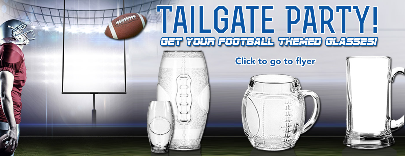 Football Tail Gate Party Mugs 2018
