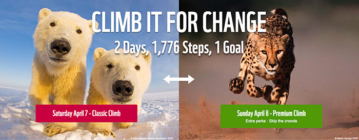 WWF Climb for nature 2018