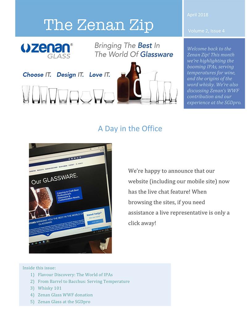 Zenan Zip - Issue 6, April 2018 - Page 1