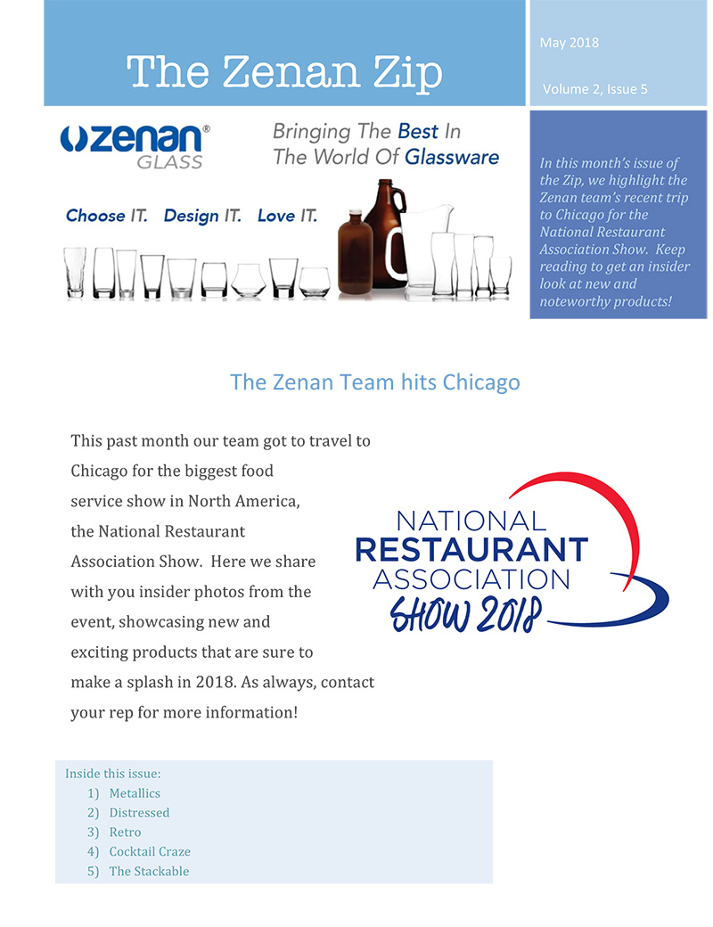 Zenan Zip - Issue 7, May 2018 - Page 1