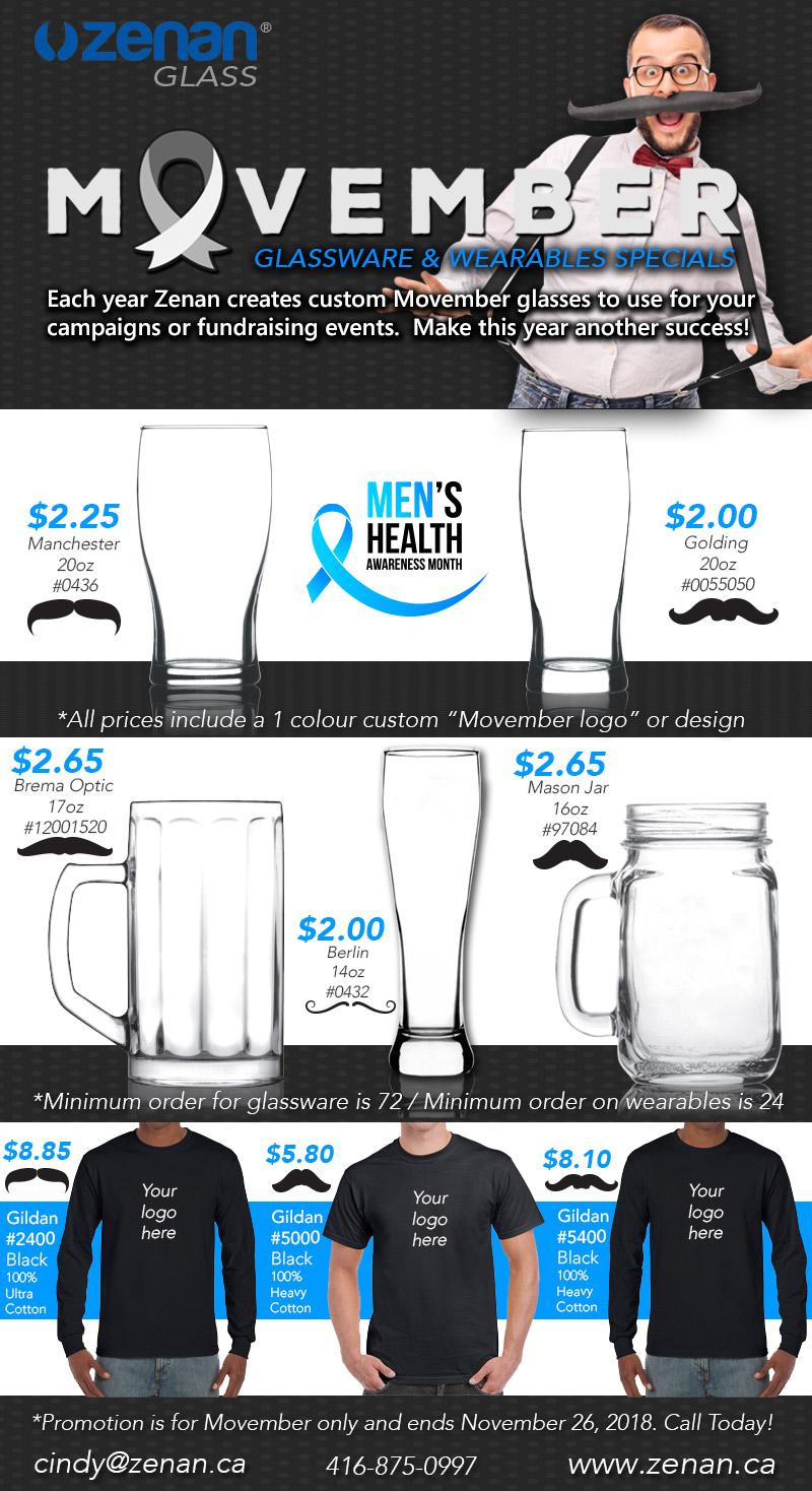 Movember 2018 Flyer