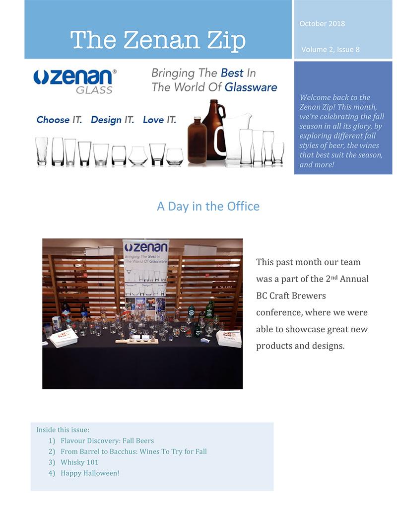 Zenan Zip - Issue 10, October 2018 - Page 1