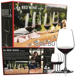 Riedel Red Wine Box Set Of 4