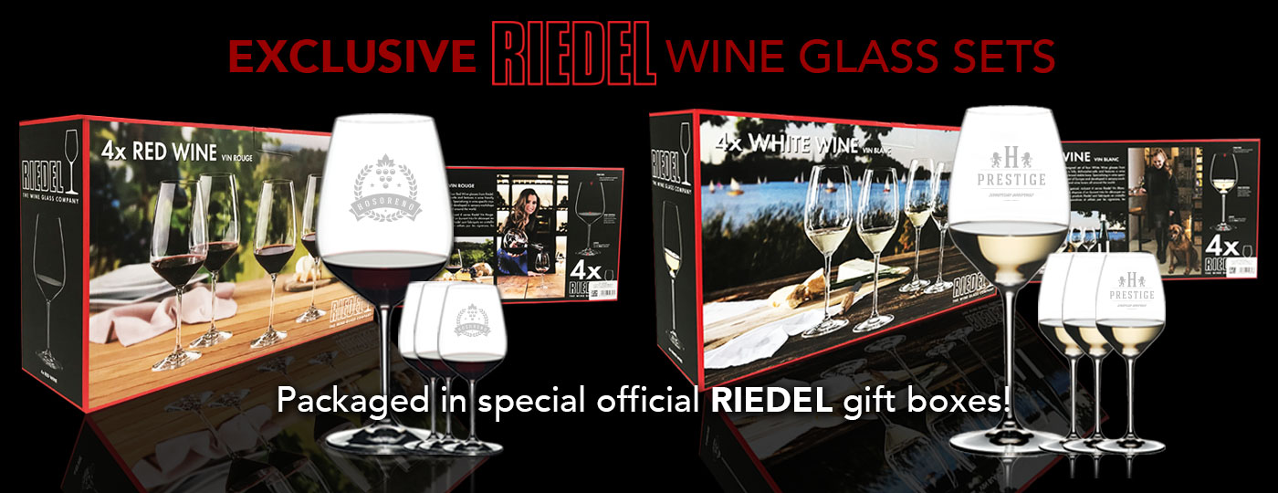 New Riedel Gift Box Sets from Zenan Glass!