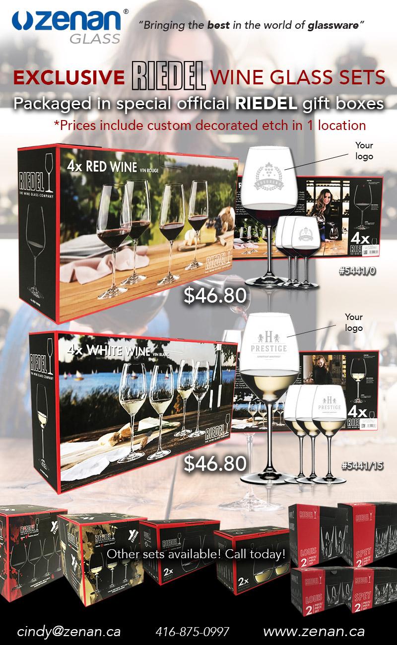 Riedel Box Sets - Stemless