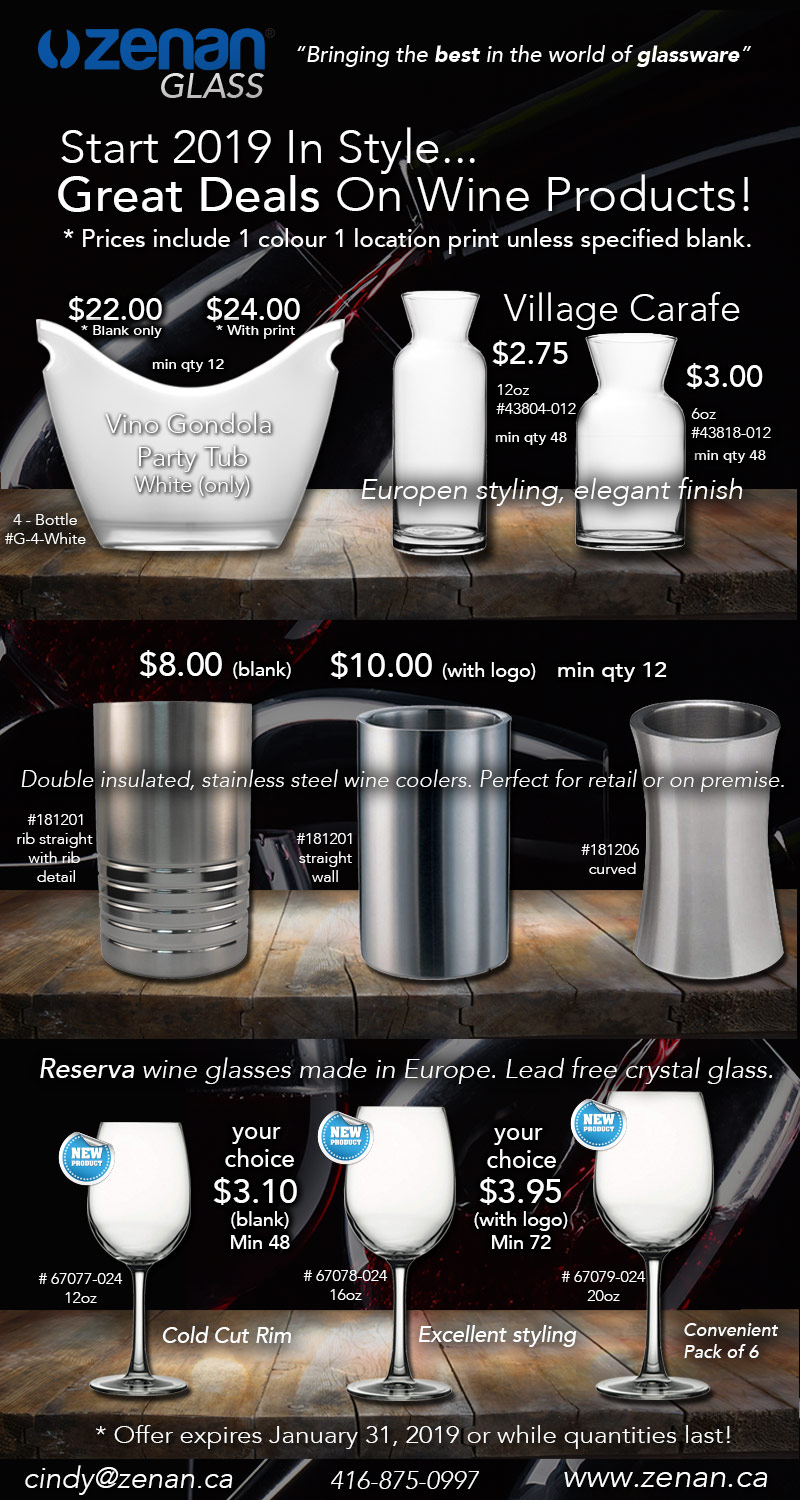 Wine Glass Deals Limited Offer!