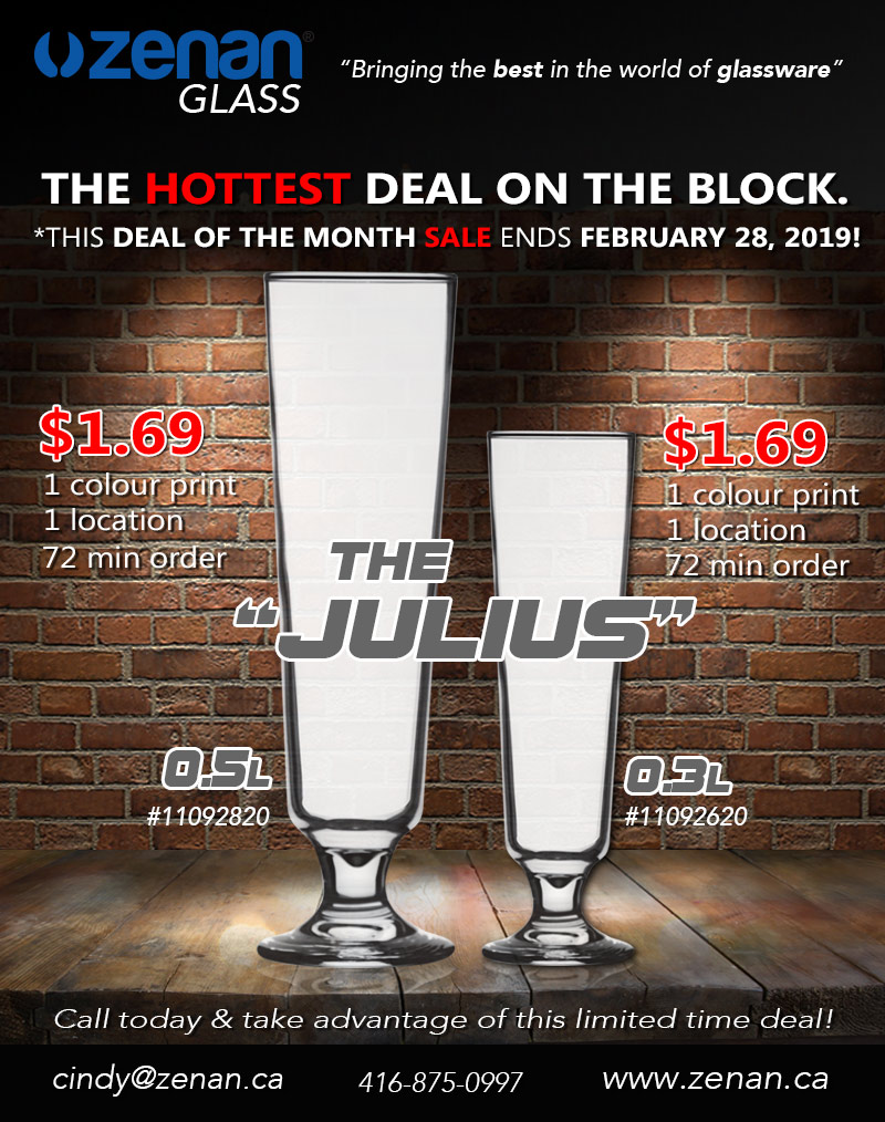February deal of the month! JULIUS $1.69!