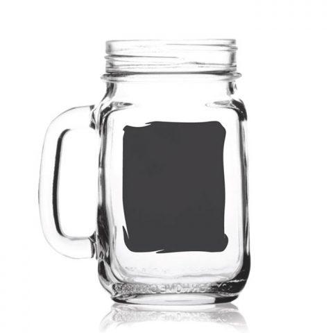 Chalkboard Drinking Jar 92103CB 16oz
