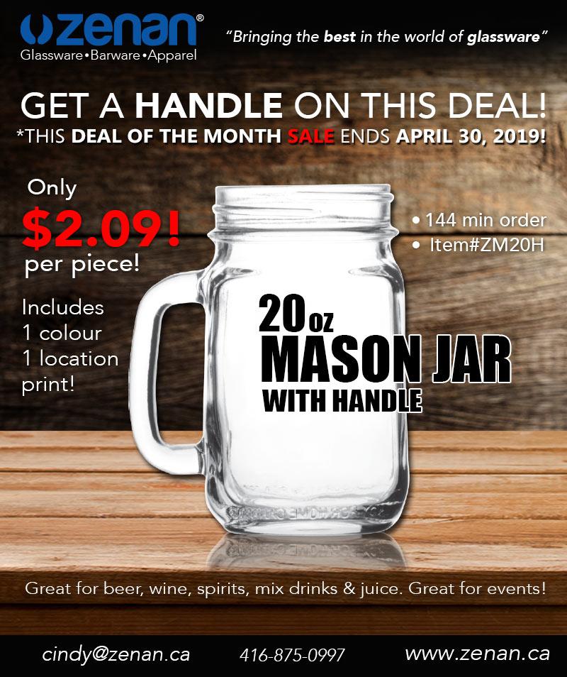 Zenan April 2019 Beer Deal of the month!
