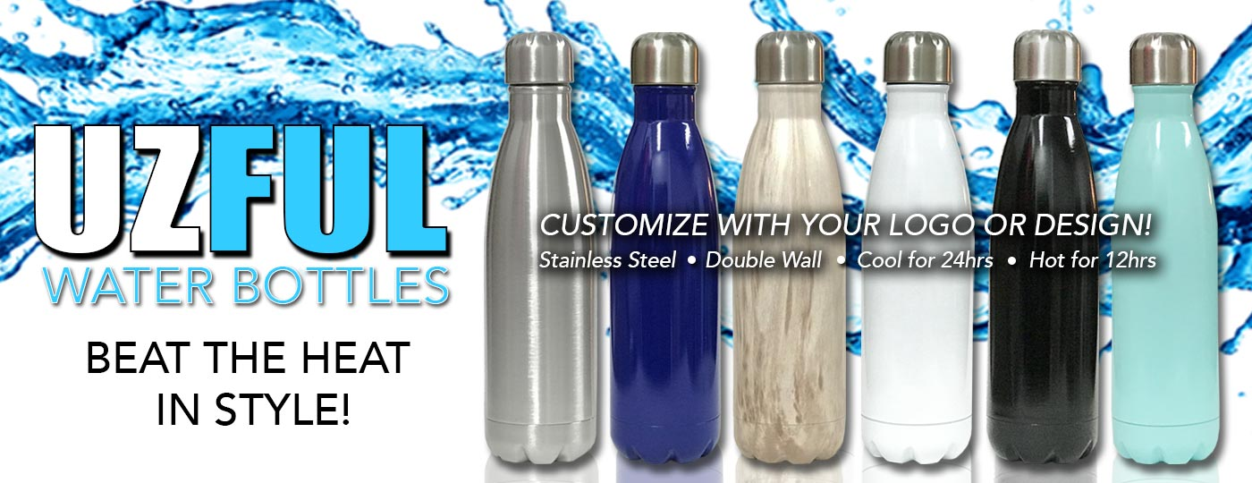 UZFUL Water Bottles Now Available!