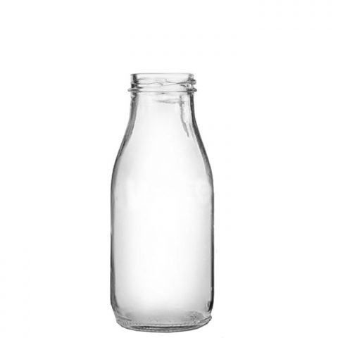 Glass Milk Bottle 8.8oz